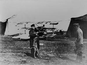 The Red Baron and His Dog by German photographer
