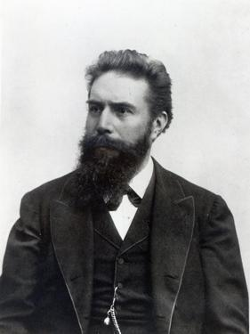 Wilhelm Rontgen by German photographer