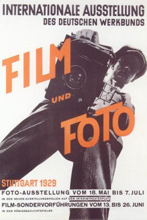 German Photography Exhibition Poster