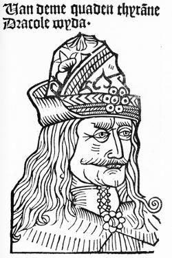 Dracula (Vlad Tepes), 1488-93 by German School