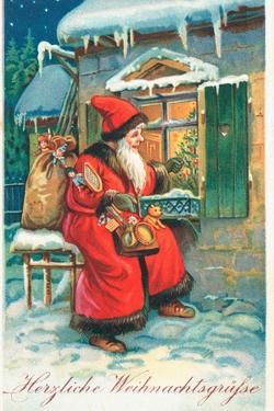 Father Christmas by German School