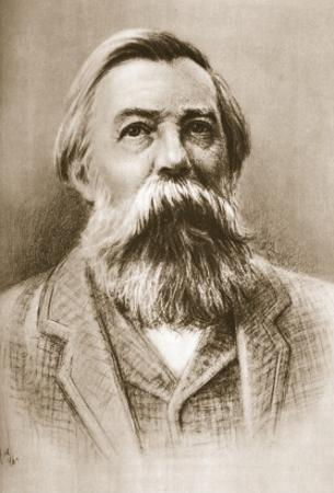 Frederick Engels by German School