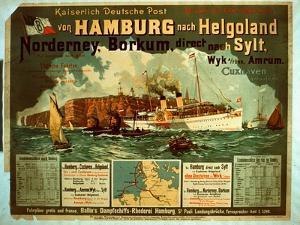 Hamburg to Helgoland by German School