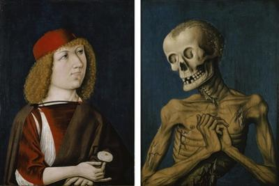Hieronymus Tscheckenbürlin and the Personification of Death, 1487 by German School
