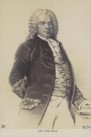 Johann Sebastian Bach, German Composer, Organist, Harpsichordist, Violist, and Violinist of the…