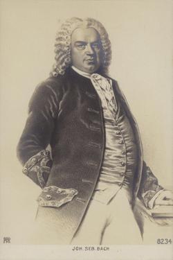 Johann Sebastian Bach, German Composer, Organist, Harpsichordist, Violist, and Violinist of the… by German School