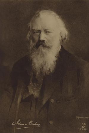 Johannes Brahms, German Composer and Pianist (1833-1897)