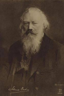 Johannes Brahms, German Composer and Pianist (1833-1897) by German School