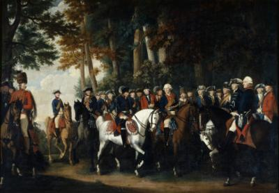 King Frederick Ii's Return from Preussen Von Manoever, C.1785 by German School