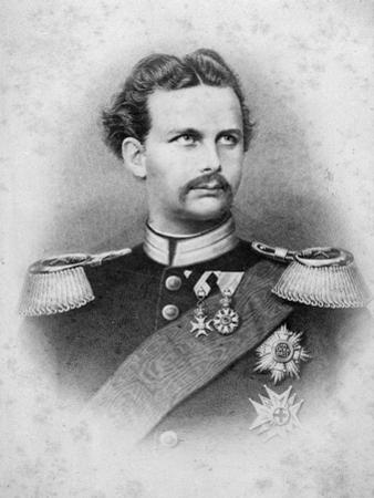 Ludwig Ii of Bavaria by German School