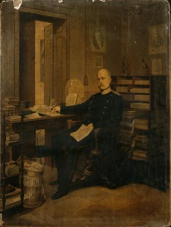 Otto Von Bismarck in His Study by German School