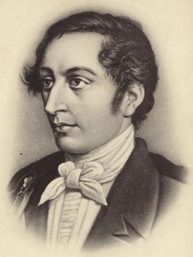 Portrait of Carl Maria Von Weber by German School