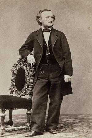 Portrait of Richard Wagner, c.1870