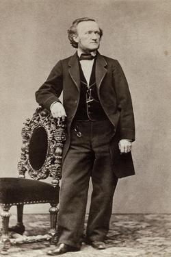 Portrait of Richard Wagner, c.1870 by German School
