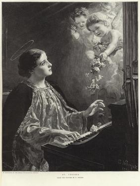 Saint Cecilia by German School