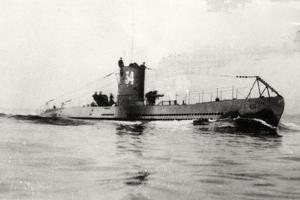 German Type Viia Submarine U-34
