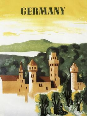Germany Castle Vint Trav