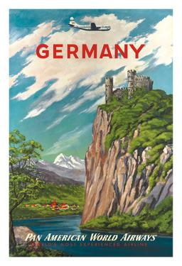 Germany - Der Rhein (The Rhine River) - Pan American World Airways (PAA)