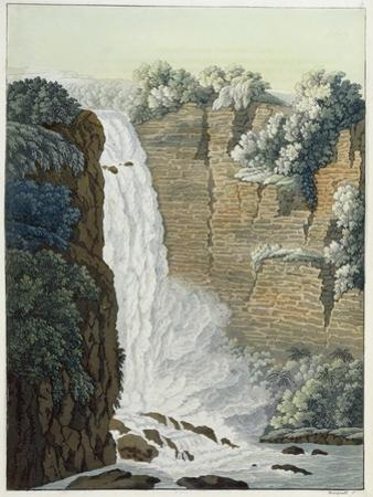 Tequendama Waterfall on the Bogota River, Colombia