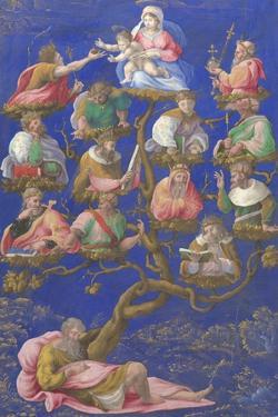 The Tree of Jesse, C.1535 by Gerolamo Genga
