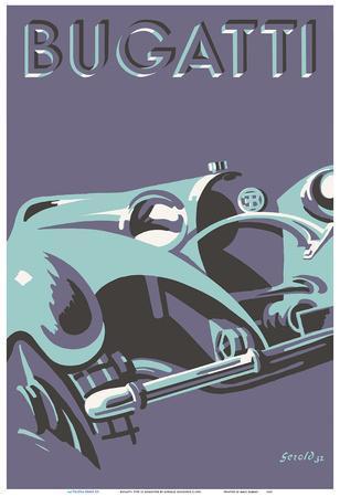 Bugatti Type 55 Roadster Sports Car