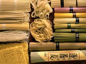 Japanese Noodles: Soba, Udon, Kishimen, Harusame, Ramen by Gerrit Buntrock