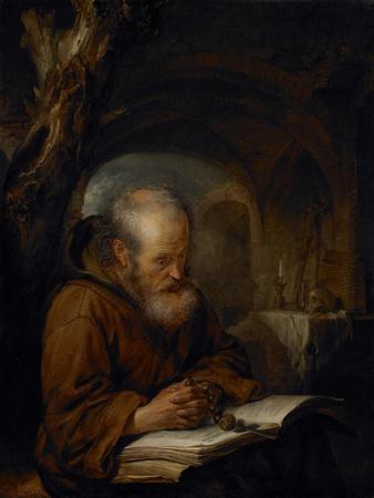 A Hermit Praying, 1670