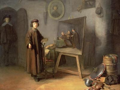 A Painter in His Studio