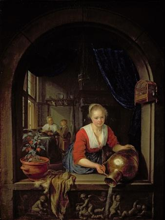 Maid Servant at a Window