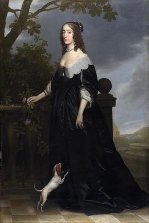 Elizabeth Stuart (1596-166), Queen of Bohemia, 1642 by Gerrit van Honthorst
