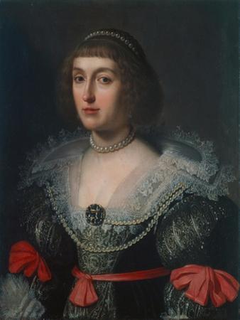 Elizabeth Stuart, Electress of the Palatinate and Queen of Bohemia, C.1630 by Gerrit van Honthorst