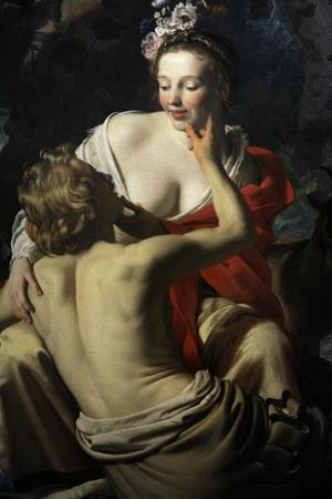 Granida and Daifilo, 1625, by Gerard Van Honthorst (1592-1656). Netherlands by Gerrit van Honthorst