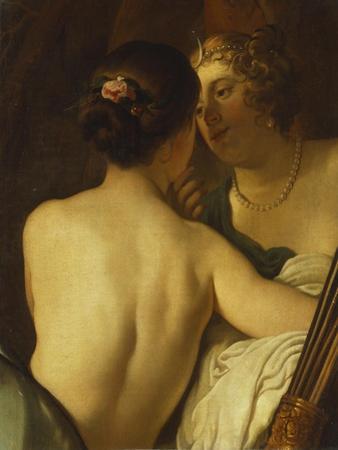 Jupiter in the Guise of Diana Seducing Callisto by Gerrit van Honthorst