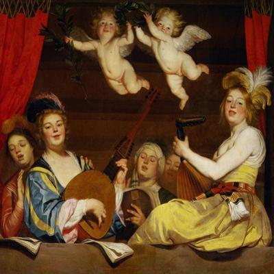Le Concert, 1624 by Gerrit van Honthorst