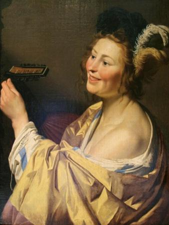Lute Player, 1624 by Gerrit van Honthorst