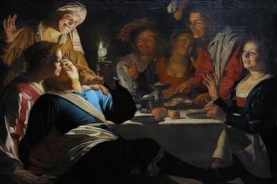 Merry Company, 1622 by Gerrit van Honthorst