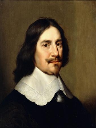 Portrait of a Gentleman, Bust Length, Wearing Black by Gerrit van Honthorst