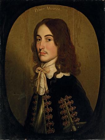 Portrait of Maurice of Nassau, Prince of Orange, 1643 by Gerrit van Honthorst