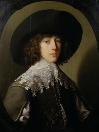 Prince Rupert (1619-82) Nephew of King Charles I (1600-49) by Gerrit van Honthorst
