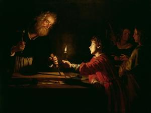 The Childhood of Christ, circa 1620 by Gerrit van Honthorst