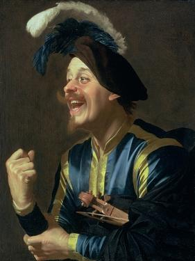 The Laughing Violinist, 1624 by Gerrit van Honthorst