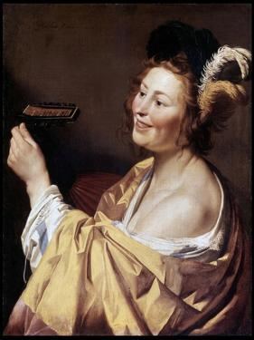 The Luteplayer, 1624 by Gerrit van Honthorst