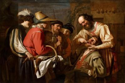 The Tooth Puller by Gerrit van Honthorst