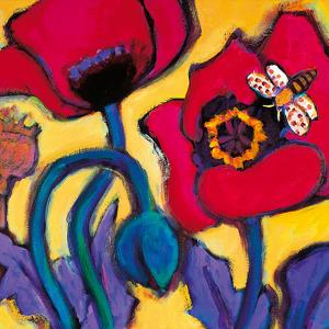 Red Poppies by Gerry Baptist