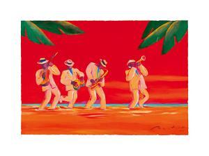 Salsa at Sundown by Gerry Baptist