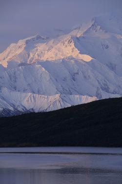Mount McKinley, Wonder Lake, Sunrise, Denali National Park, Alaska, USA by Gerry Reynolds