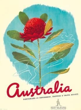 1935 Australia Shipping by Gert Sellhein