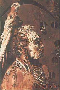 American Indian by Gerti Bierenbroodspot