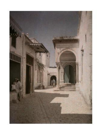 A View of the Medersa, the High School of Muslim Law by Gervais Courtellemont