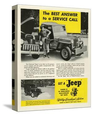 Get a Jeep - Willy Overland